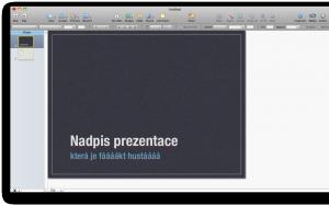 Keynote - screenshot