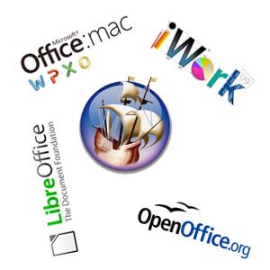 Kancelářské balíky pro Mac OS X