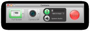 Camtasia - nahrávání