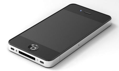 iPhone 5 - render iPhone 4