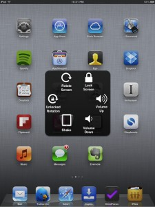 Assistive Touch - iOS 5