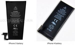 iPhone 5 - baterie