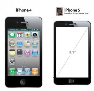 iPhone 5 - renderovaný obrázek
