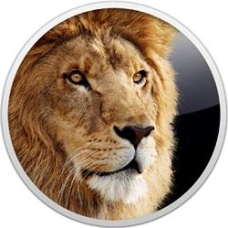 "Mac OS X 10.7 ""Lion"" (logo)"