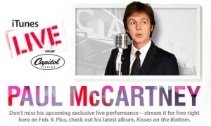Paul McCartney koncert