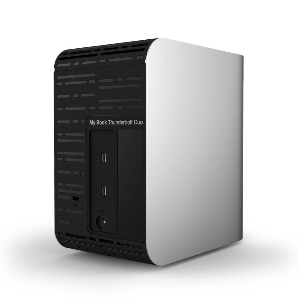 WD My Book Thunderbolt Duo (logo)