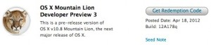 Mountain Lion Developer Preview 3