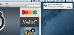 Automatické stahování v OS X Mountain Lion