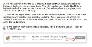 OS X Mountain Lion - Developer Preview 3