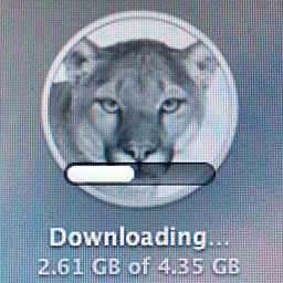 OS X Mountain Lion (downloading)