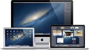OS X Mountain Lion nainstalován