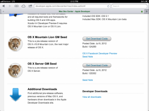 OS X Mountain Lion (Golden Master)