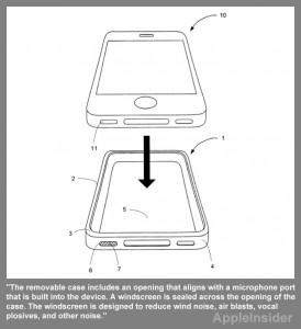 iPhone pouzdro (patentový nákres)
