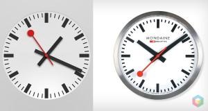 iOS 6 hodiny vs. SBS hodiny